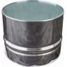 Журнальный стол Barrel Table Silver в аренду